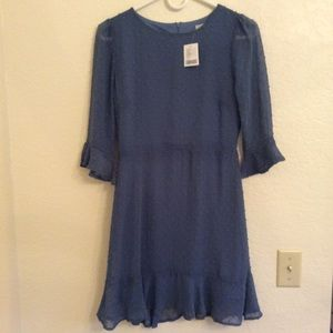 NWT Urban Outfitters blue dress